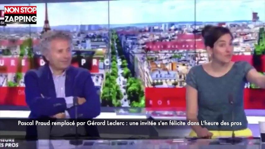 L'heure des pros : Pascal Praud remplacé par Gérard Leclerc, une invitée s'en félicite (vidéo)