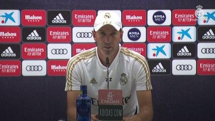 """Zidane : """"J'espère qu'on reverra Eden avec nous avant la fin de la saison"""