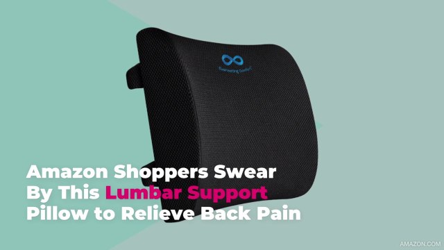 Amazon Shoppers Swear By This Lumbar Support Pillow to Relieve Back Pain