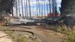 Les pompiers de l'Orne interviennent dans un incendie