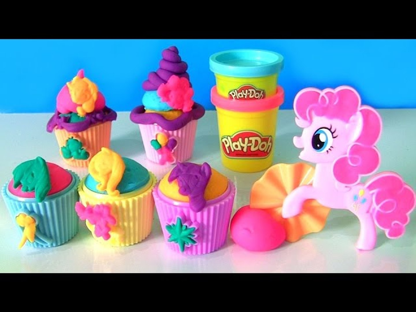 Play Doh My Little Ponny Cupcake Party