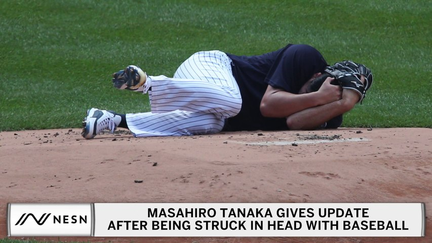 Masahiro Tanaka Gives Update After Being Struck In Head With Baseball