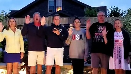 """General Flynn - @GenFlynn Takes the Oath with His Family on July 4th - """"The People's General"""""""