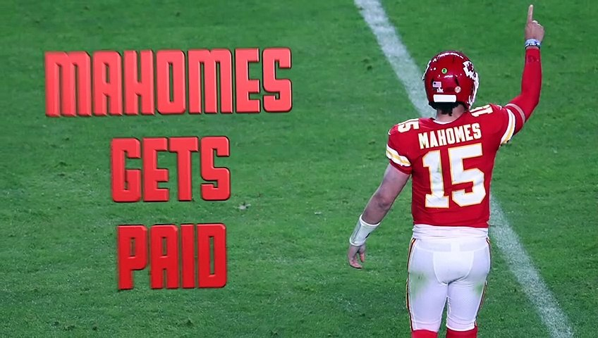 Patrick Mahomes Agrees To Sign Richest Contract In Sports History