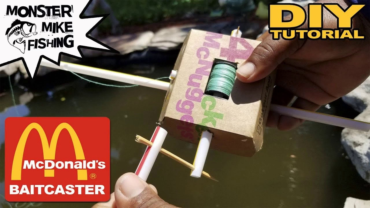 McDonald's DIY Baitcaster Fishing Rod
