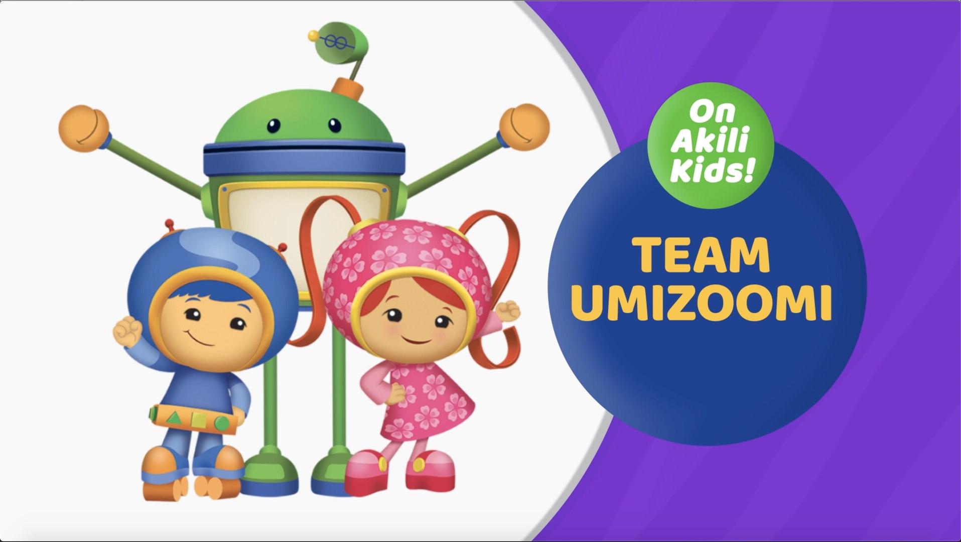 Team Umizoomi on Akili Kids! TV