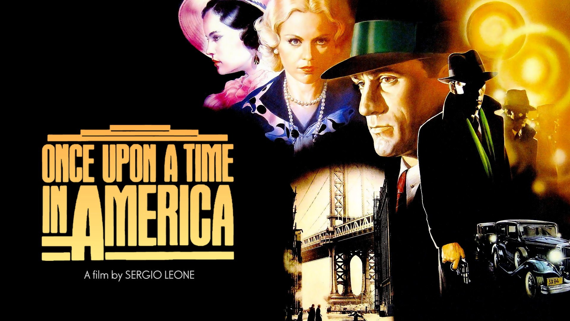 Once Upon a Time in America (1984)  Crime, Drama
