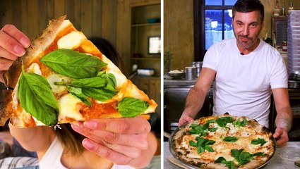 I tried to make New York's best pizza at home with Lucali chef Mark Iacono