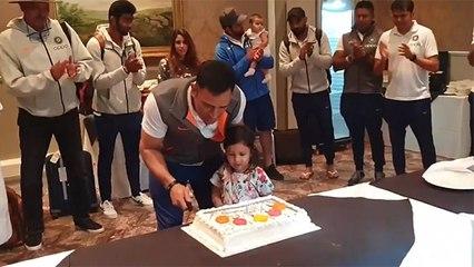 2019 में ऐसे मनाया था MS Dhoni ने अपना जन्मदिन