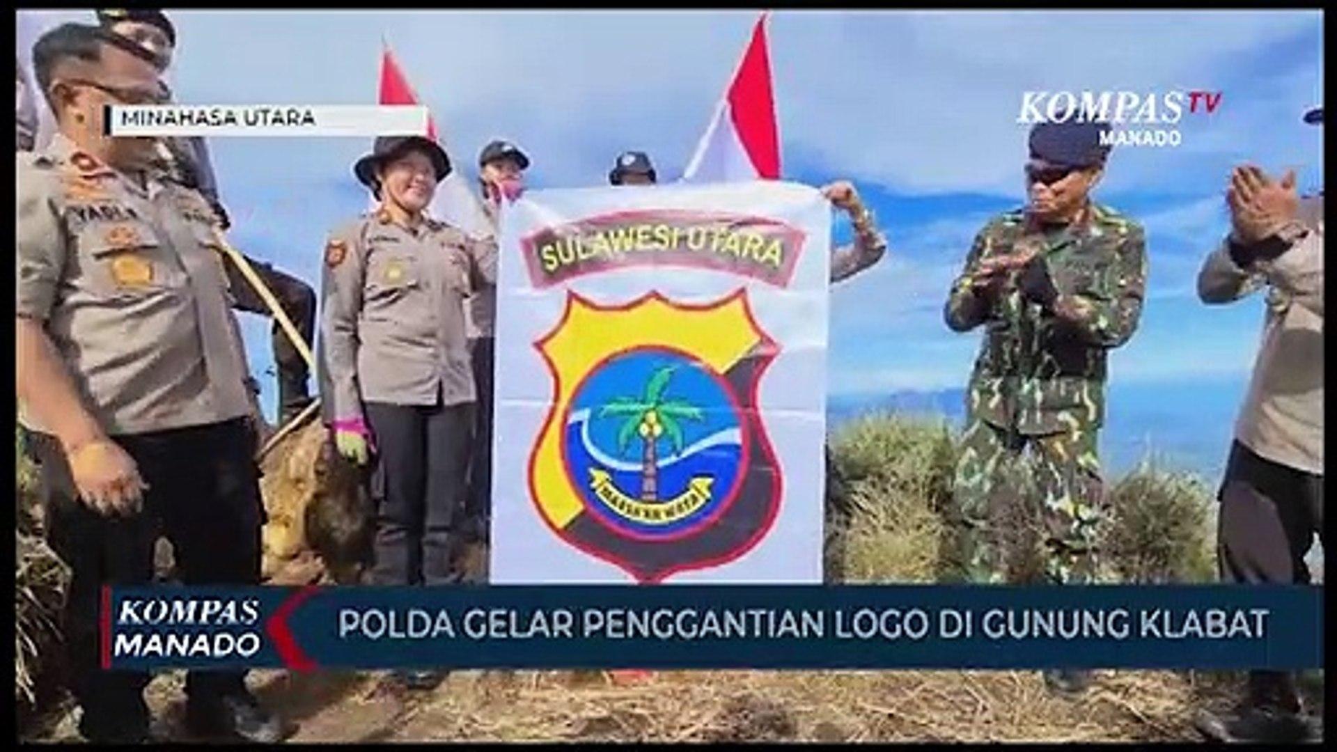 Soft Launching Logo Dan Pataka Polda Sulut Di Puncak Gunung Klabat Video Dailymotion