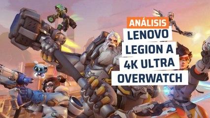 Lenovo Legion T730 - rendimiento Overwatch