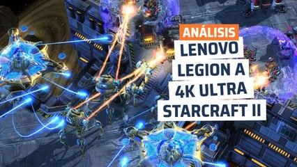 Lenovo Legion T730 - rendimiento StarCraft II