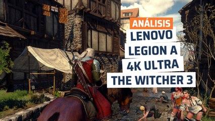 Lenovo Legion T730 - rendimiento The Witcher 3
