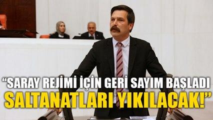 Erkan Baş: Saray rejimi için geri sayım başladı! Saltanatları yıkılacak!
