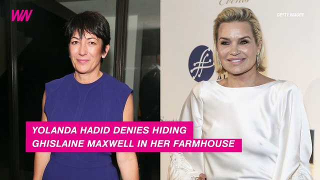 Yolanda Hadid Denies Hiding Jeffrey Epstein Associate at Her Farmhouse