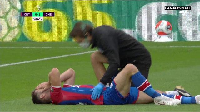La blessure de Cahill juste avant le but de Giroud