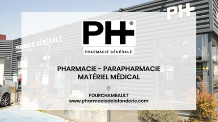 Pharmacie de la Fonderie à Fourchambault.