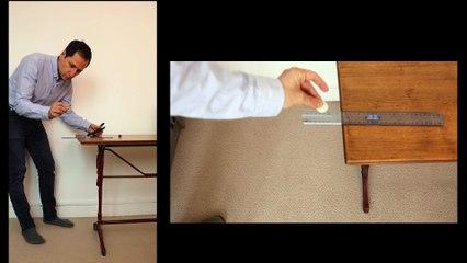 Activité expérimentale avec un smartphone - Chute mesurée par le chronomètre sonore