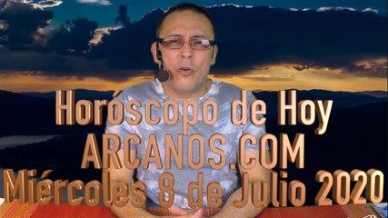 HOROSCOPO DE HOY de ARCANOS.COM - Miércoles 8 de Julio de 2020