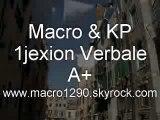 MACRO KP (1JEXION VERBALE) - A+ (NOUVEAU SON)