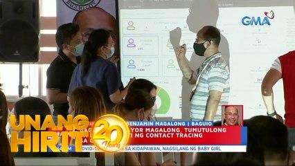 Unang Hirit: Panayam kay Baguio City Mayor Benjamin Magalong ukol sa contact tracing