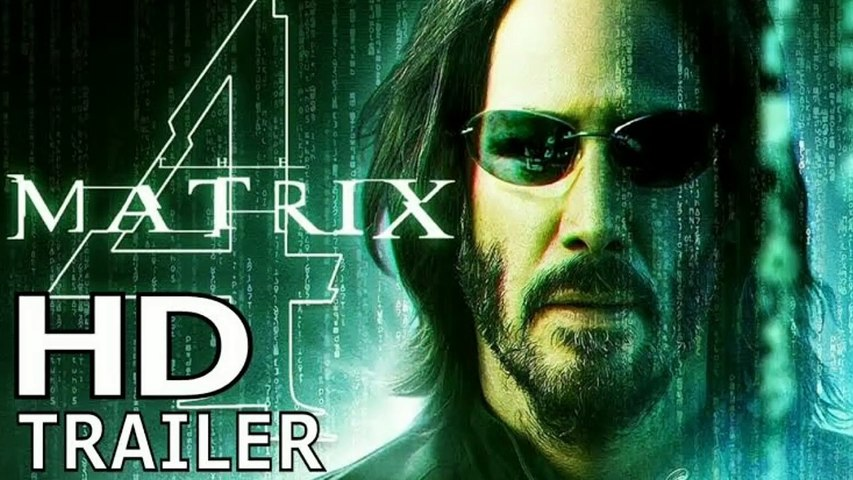 THE MATRIX 4: REVIVAL - Trailer   HD (2020) - Keanu Reeves , Carrie-Anne Moss Movies Concept