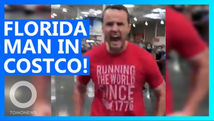 Florida Man Goes Berserk in Costco When Asked to Wear a Mask