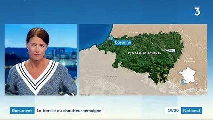 Bayonne : Le témoignage bouleversant de la femme et la fille du chauffeur de bus massacré pendant son service et en état de mort cérébrale