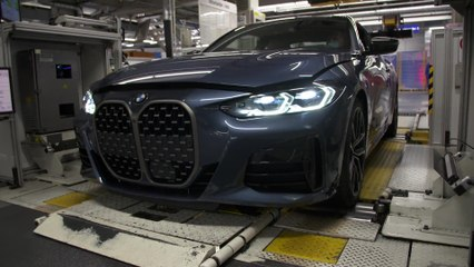 Production of the new BMW 4 Series Coupé at BMW Group Plant Dingolfing - Final assembly