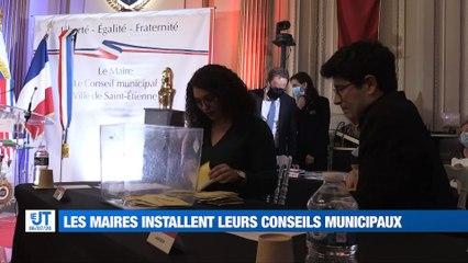 """À la une : Les nouveaux maires installent leurs conseils municipaux / Marche blanche pour Mohamed Benmouna / Opération """"Maison rouge"""" à Saint-Etienne"""