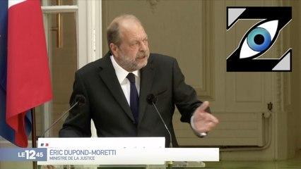 [Zap Télé] E. Dupont-Moretti : un ministre qui irrite déjà ! (08/07/20)