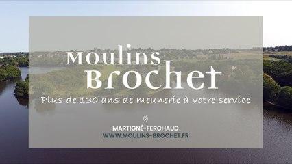 Moulins Brochet, minoterie traditionnelle située à Martigné-Ferchaud en Ille-Et-Vilaine