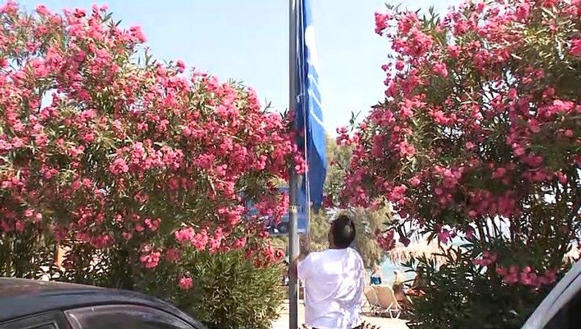 Υψώθηκε η Γαλάζια Σημαία στο Δήλεσι