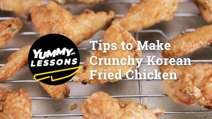 Tips To Make Crunchy Korean Fried Chicken   Yummy PH