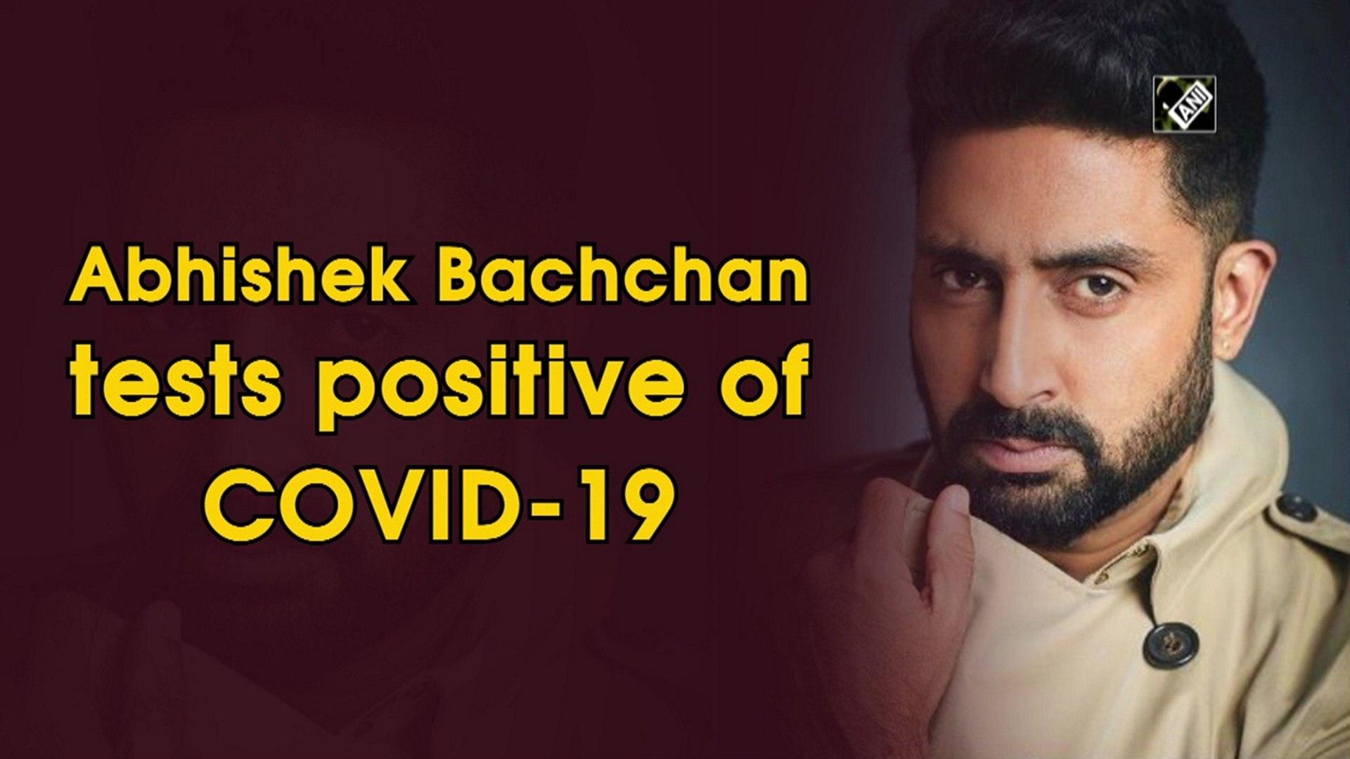 Abhishek Bachchan tests positive of Covid-19