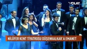 Nilüfer Kent Tiyatrosu'nda perde ne zaman iniyor? Ünlü oyuncu Düşenkalkar, OLAY'ın yayınında anlattı...