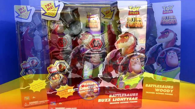 Toy Story That Time Forgot BattleSaurs Woody Buzz Lightyear Action Figure Doll Toys