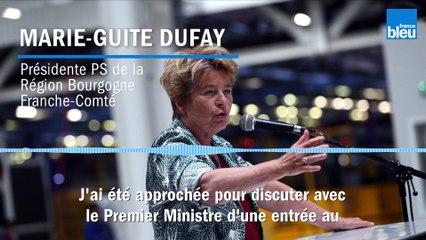 La socialiste Marie-Guite Dufay a bien été approchée pour entrer au gouvernement