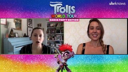 Rachel Bloom - Trolls World Tour Interview