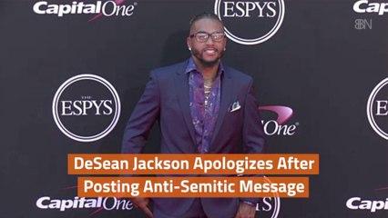 DeSean Jackson Is Sorry