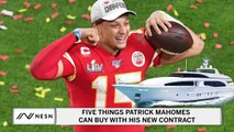 Five Things Patrick Mahomes Can Buy With His New Contract
