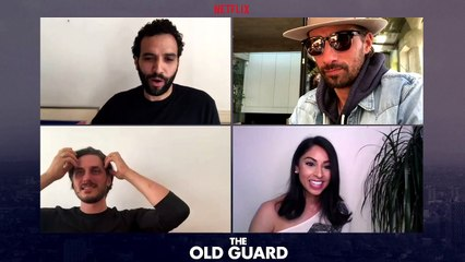 THE OLD GUARD: Cast Discuss Living Forever & Visiting Past Eras