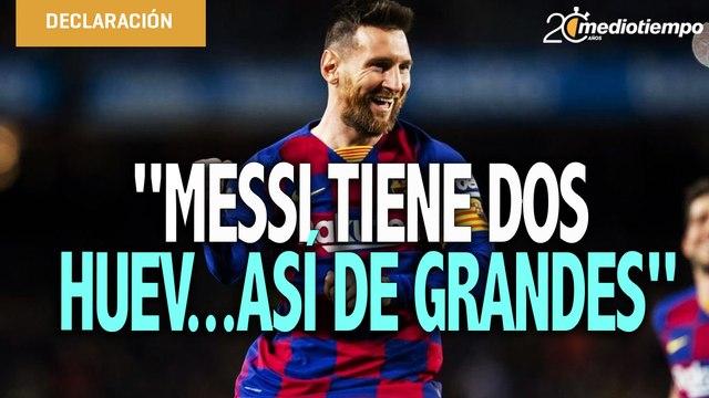 ¿Messi pecho frío? si tiene unos huev…grandes: De Rossi