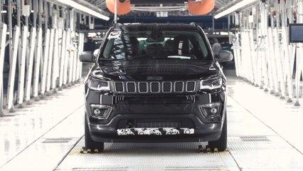 2020 Jeep Compass Production line