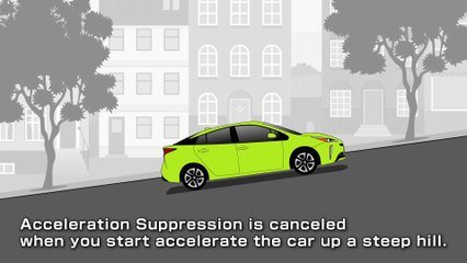 Toyota Plus Support (Acceleration Suppression System)