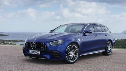 The new Mercedes-AMG E 63 S 4MATIC+ Estate Design Preview