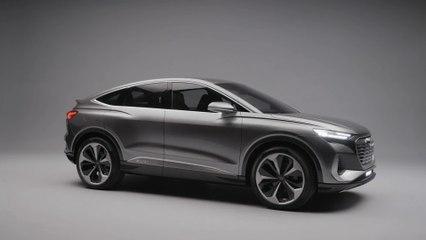 World Premiere - the Audi Q4 Sportback e-tron concept