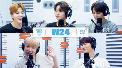 [Pops in Seoul] ♦︎Behind Radio Clip♦︎ W24's Key Word Interview~❤︎