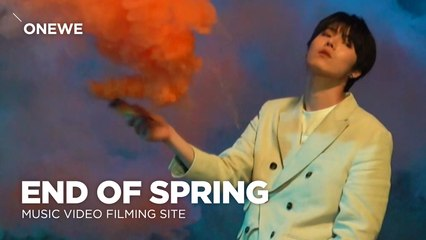 [Pops in Seoul] End of Spring! ONEWE(원위)'s MV Shooting Sketch