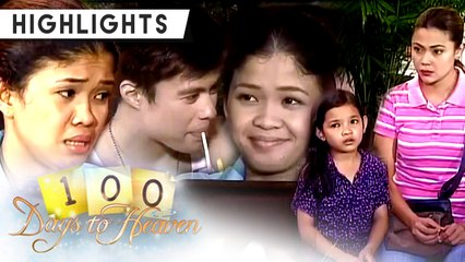 Anna and Sophia learn why Girlie does not want to leave her boss, Dexter | 100 Days To Heaven